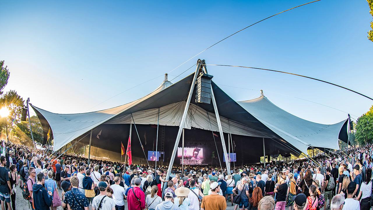 Сцена Arena на фестивале Roskilde 2018