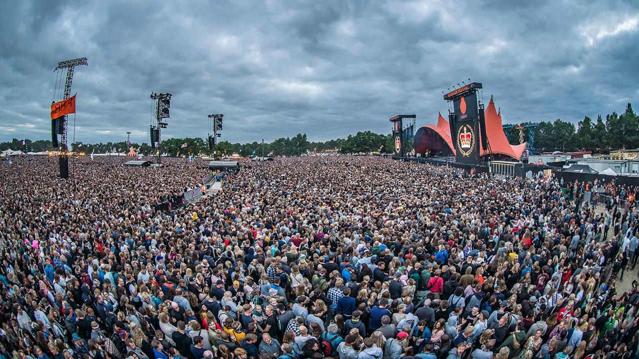 Сцена Orange на фестивале Roskilde 2018